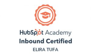 Inbound Marketing Certification Elira Tufa