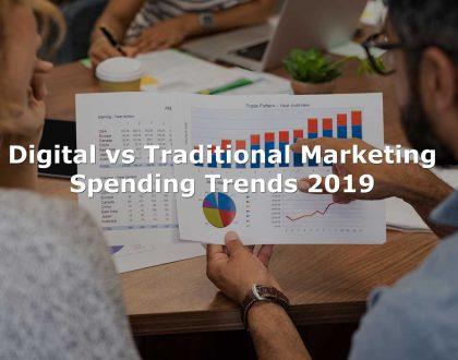 Digital vs Traditional Marketing Spending Trends 2019