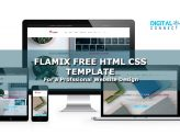 flamix free html css template